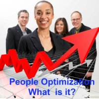 What are the activities of people optimization in businesses?